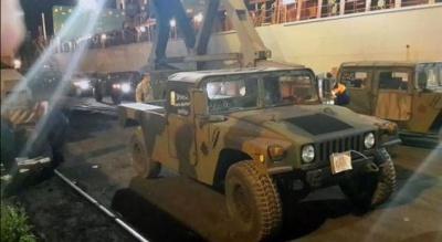 """100 """"Хамерів"""" для української армії прибули в Одесу"""