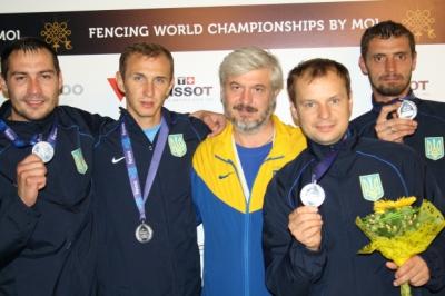 Українські шпажисти – чемпіони світу