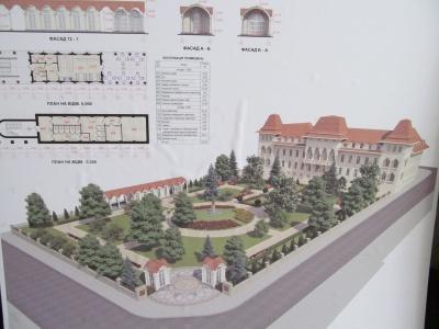 Сквер біля резиденції реконструюють наступного року (ФОТО)