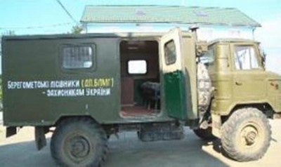Лісівники з Вижниці передали в АТО ще одну машину