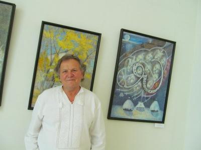 У Чернівцях на виставці - картини з козацьким письмом (ФОТО)