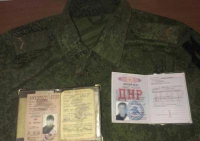 """На Донеччині затримали """"КамАЗ"""" зі зброєю, в я кому перебував російський військовий"""