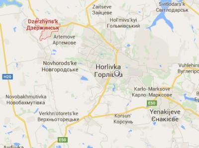 Бойовики завдали удару по Дзержинську. Двоє людей загинули