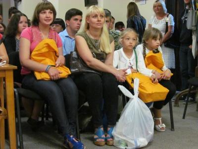 Сім'ям чернівецьких учасників АТО вручили подарунки з-за кордону