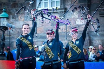 Украинские лучницы стали лучшими на чемпионате мира