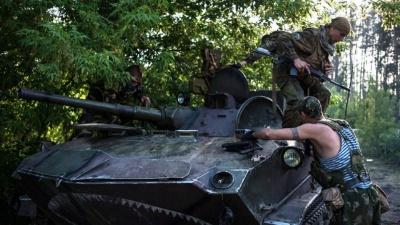 Штаб АТО: Поблизу Донецька продовжується активне бойове протистояння