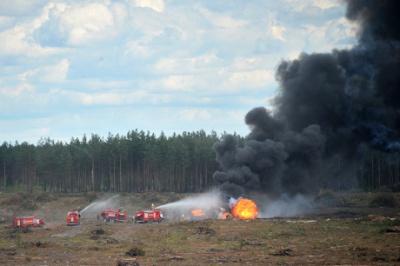 У Росії розбився бойовий гелікоптер