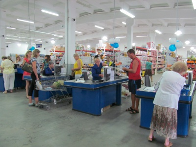 У Чернівцях відкрили супермаркет з товарами без націнок