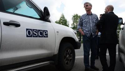 В ОБСЄ прокоментували згорілі авто місії у Донецьку