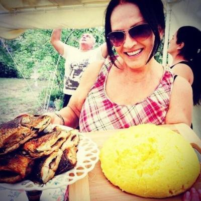 Софія Ротару показала, чим нагодувала гостей у день народження