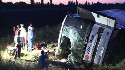 Останні подробиці аварії автобуса в Румунії з 51 пасажиром з України