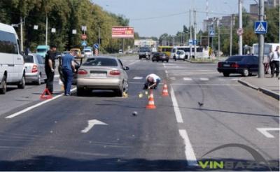 У Вінниці прямо на трасі розстріляли авто: є жертви