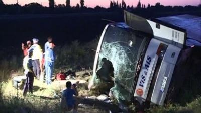 Автобус, який розбився у Румунії, на Буковині штрафували 8 разів