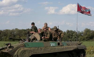 Бойовики обстрілюють позиції сил АТО біля Маріуполя