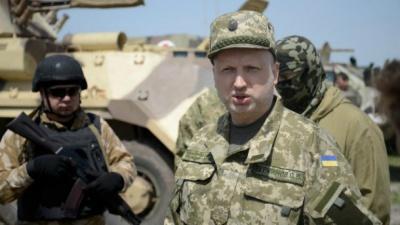 Турчинов: Інтенсивність ведення вогню відповідає активним бойовим діям