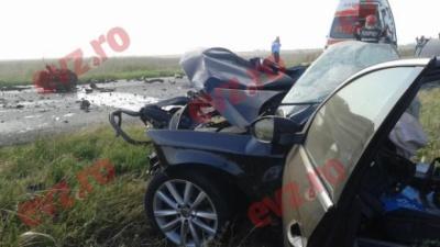 Мікроавтобус з українськими номерами потрапив у аварію в Румунії
