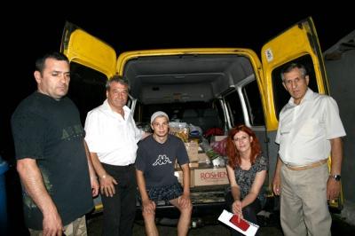 Райлікарня Буковини відправила бус з медикаментами в зону АТО