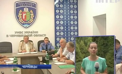 """Журналістів """"Інтера"""" вигнали із засідання Громадської ради при УМВС (ВІДЕО)"""