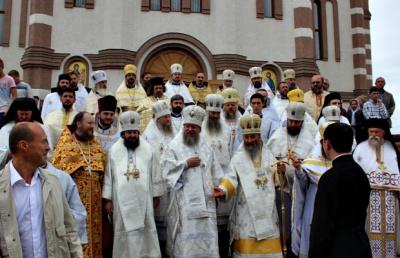 Митрополит Онуфрій освятив на Буковині храм (ФОТО)