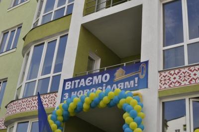 У Чернівцях здали в експлуатацію житловий будинок на 72 квартири (ФОТО)