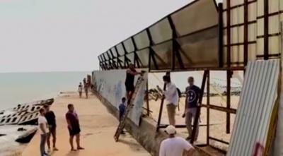 Саакашвілі знайшов в Одесі персональний пляж Злочевського: маскував під лабораторію