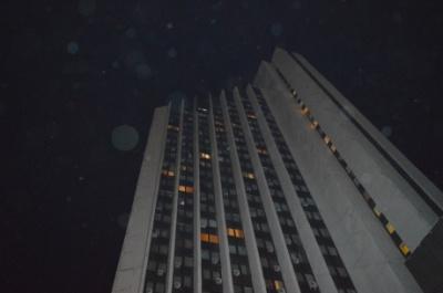 У Києві горів готель. Одна людина постраждала, 100 - евакуювали