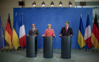 В Госдепе прокомментировали итоги встречи Порошенко, Меркель и Олланда