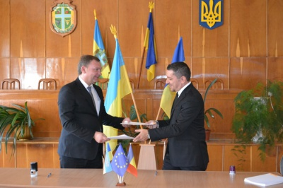 Прикордонні райони Чернівецької області та Румунії підписали угоду про співпрацю
