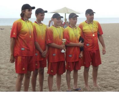 """Чернівецькі """"Соколи"""" стали чемпіонами з пляжного бейсболу"""