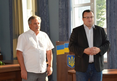 Каспрук представив колективу аеропорту нового директора