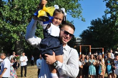 Школи Чернівців прийняли понад 2800 першокласників