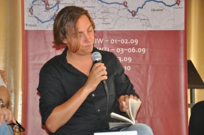 У Чернівцях Андрій Любка презентував нову книгу «Карбід» (ФОТО)