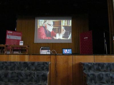 На Meridian Czernowitz презентували фільм за участю Ігоря Померанцева