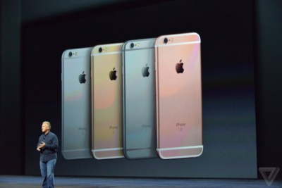 Apple презентувала нові iPhone 6S і iPhone 6S Plus