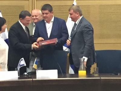 В Ізраїлі зустрілися четверо буковинців - Бурбак, Федорук, Петренко і Ендельштейн (ФОТО)