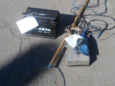 За лов риби електровудочкою пропонують саджати до в'язниці
