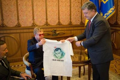 Елтон Джон закликав українців бути терпимими до ЛГБТ