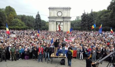 У Кишиневі поновилися акції протесту