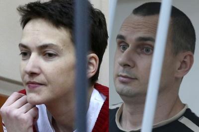 Порошенко каже, що обміну Сенцова та Савченко на російських ГРУшників не буде
