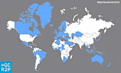 67 країн підтримали ініціативу утримання від права вето в Радбезі ООН