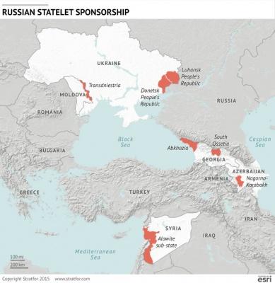 Stratfor: Росія не забере свої війська зі східної України