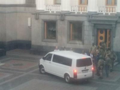 Співробітників СБУ вивели Мосійчука із будівлі Ради