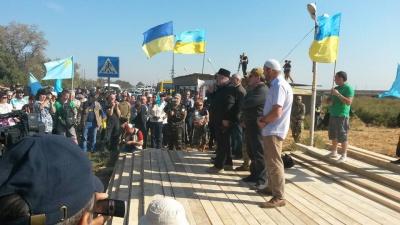 Порошенко прокоментував блокаду Криму