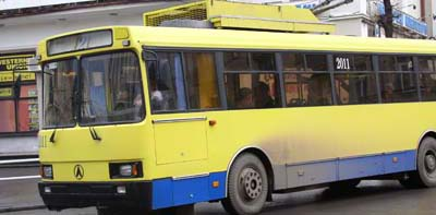 У день виборів у Чернівцях транспорт ходитиме з 5.30