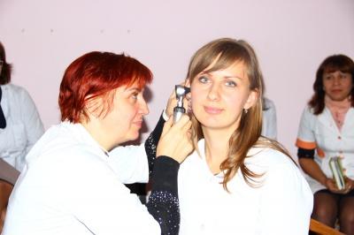 Викладачі БДМУ провели майстер-клас з отоскопії