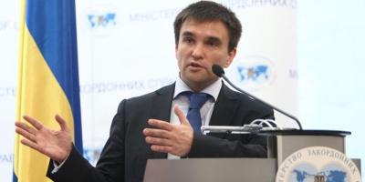 Клімкін: Вибори на Донбасі неможливі, доки там перебувають іноземні війська