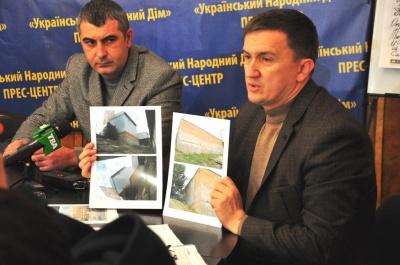 Скандальний магазин, що збудували на мосту біля Калинки, визнали рухомим майном