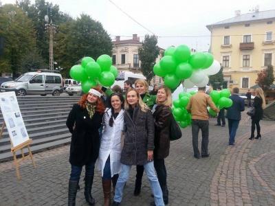 """У Чернівцях партія Коломойського попіарилась на """"Революції на граніті"""""""