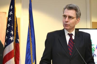 Посла США у Чернівцях вразила архітектура віденської сецесії