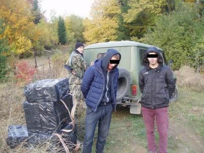 На кордоні на Буковині затримали двох контрабандистів